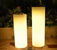 High quality led planter , Ultra bright led flower pot, waterproof LED lighting flower pot