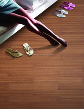 Top Selling Household Products 2013 Dark Oak Color Indoor Vertical Bamboo Flooring-KE-V02033