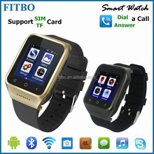 Perfect WIFI+ GPS + FM + touch screen +GPS video call watch phone