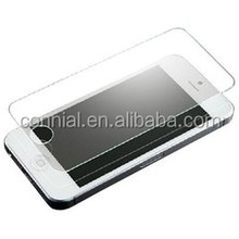 high transparency 9H 0.33mm tempered glass screen protector for iPhone 5