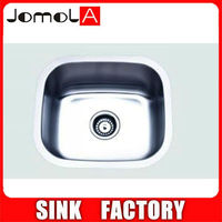 Undermount single bowl kitchen sink royal