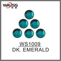 Dk . Emerald Bulk Loose Rhinestones For Bags