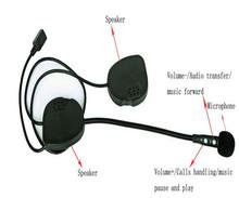 china factory high quality motorcycle helmet bluetooth headset/intercom