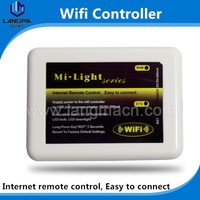 Langma mi.light smart wireless 2.4G RF wifi box control wifi controller for RGBW mi.light bulbs/led strips/downlight/panel light