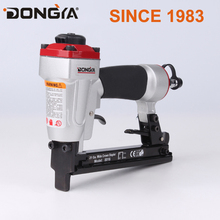 industrial quality factory stapler for wood with light die cast body with 360 exhuast direction