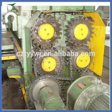 iron roofing sheet corrugate color and galvanized cold roll forming machine