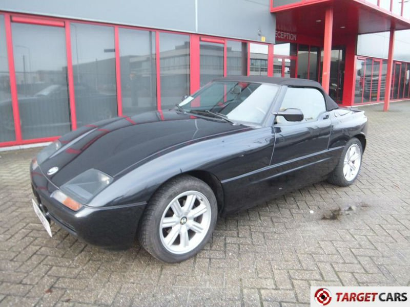 bmw z1 roadster cabrio 07 90 black 150900km buy bmw z1 roadster produc. Black Bedroom Furniture Sets. Home Design Ideas