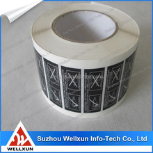 Brand new decorative adhesive labels for tires