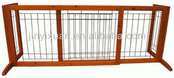 Wooden folding gate for pets / dog fence