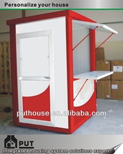 small container extensible kiosk