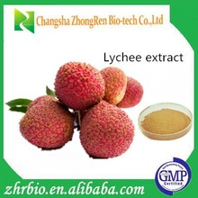 pure natural litchi extract powder lychee seed extract Polyphenol 50%