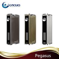 2015 Cacuq best e cigarette vaporizer Pegasus 70W Mod Odyssey Kit original Aspire Triton Bell Cap