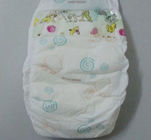 B grade Lovely and Comfortable Baby Diapers hot sale in European markets