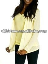 Girls knitted silk cardigan--classical style