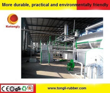 Hot sales waste tyre recycling pyrolysis machine,waste oil to diesel oil distillation plant