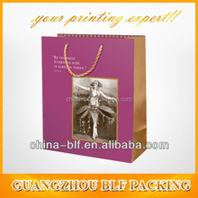 (BLF-PB148) guangzhou special paper bag for carrier