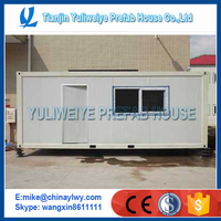Flat pack container house -- Prefabricated house used as refugee camp & construction camp living container house