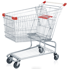 CE and ISO approved wheel parts for trolley/Vegetable shopping trolley bag/Trolley shopping cart