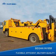 YUTONG 4X2 Professional And Efficient Heavy Duty Rotator Tow Truck For Wrecker
