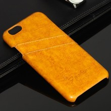 good quality leather Back Cover Case for iPhone 6 case for apple