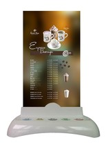 China Supply restaurant wireless waiter table call button with menu holder