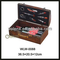 Shenzhen Log Vintage Wood Wine Box