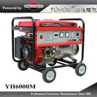 single phase 220v 380v electric generator 5kw