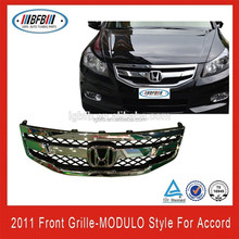 Auto front grille Modulo style for honda accord 2011-2012