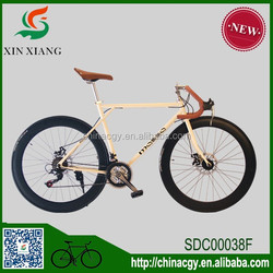 Factory direct sale 21 speed disc brake road bicycle
