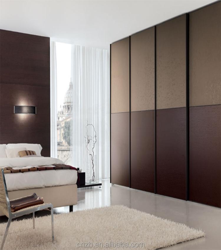 Sliding Door Wardrobe Laminated Plywood Wardrobe Design
