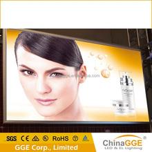 Aluminum mat led light box light/advertising led poster display board