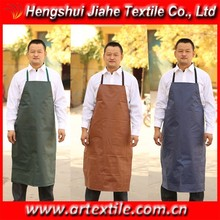 leather cooking apron for man/men