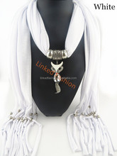 Very soft wholesale 100% plain single color viscose scarf