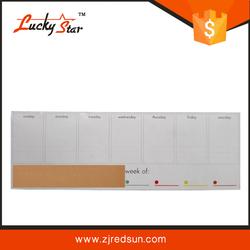 Magnetic mini whiteboard writing board monthly calendar whiteboard