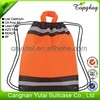 Cheap promotional business mini linen draw string bag