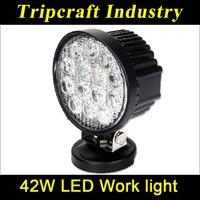 42W LED WORK LIGHT Boat Deck Light 10-30V Spot Flood Beam Car Accessories