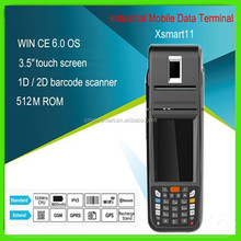 portable printer touch screen handheld devices barcode scanner, PDA mobile phone, qr code reader