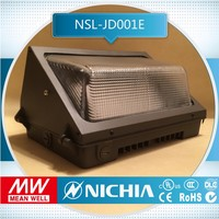 free for sample Good Stability ul listed outdoor led wallpack glass reflector, outdoor wall lamps