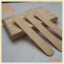 wholesale medical cosmetic Disposable hair removal wooden wax spatula