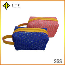 special promotion knit cosmetic bags beauty makeup case
