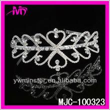 Bridal Wedding Sparkling Tiara with Austrian Crystal MJC-100323