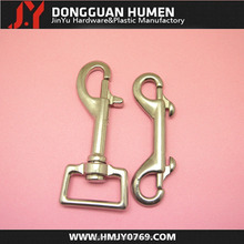 Jinyu stainless steel swivel snap hook clips for dog chains