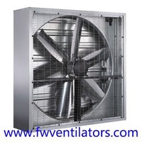 Good quality smoking room hot air industrial louvered extractor fans