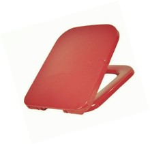 PP plastic fashional simple square toilet seat cover with soft closing