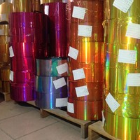 Factory wholesale metallized aluminum pet film with many colors