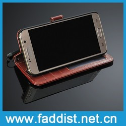 For Galaxy S6 Flip Cover,China Supplier for Galaxy S6 Leather Case