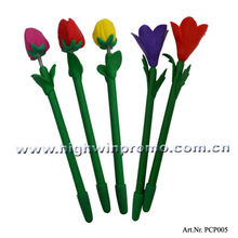 Novel Polymer Clay Flower Ballpoint Pen