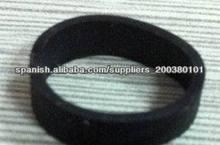 Amplia 2014 blackl eco- ambiente durable banda de goma