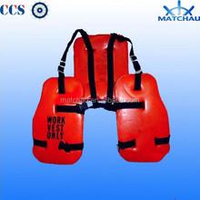 Marine Oil Platform EPE Foam Working Life Vest