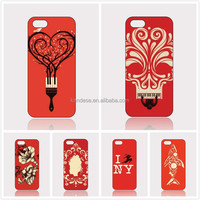 OEM Christmas Gift Phone Case Wholesale Phone Shell Red Color Painting Unique Phone Cover Case For Samsung GALAXY Note 3 N9006